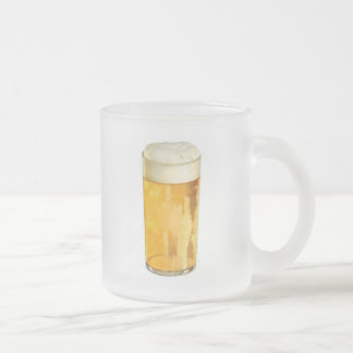 Glass of Beer Frosted Glass Coffee Mug