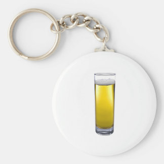 glass of beer key chains