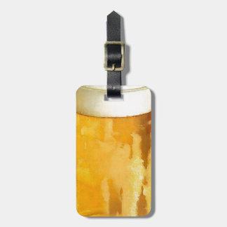 Glass of Beer Bag Tags