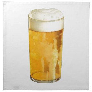 Glass of Beer Napkin