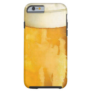 Glass of Beer Tough iPhone 6 Case