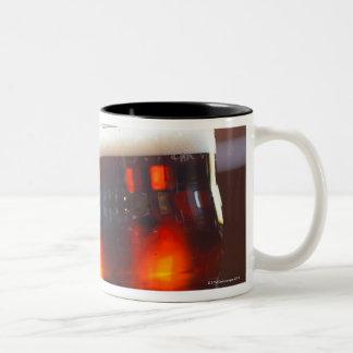 Glass of beer Two-Tone coffee mug