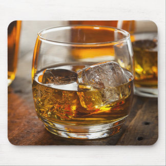 Glass Of Bourbon Mouse Pad