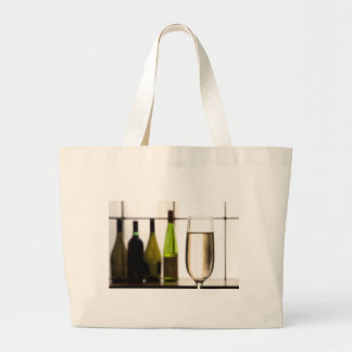 Glass of Champagne Cloth Shopping Bag