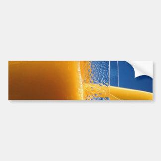 Glass of Juice Bumper Sticker