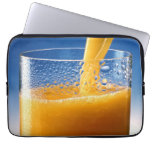 Glass of Juice Laptop Sleeves