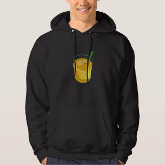 Glass Of Juice Mens Hoodie
