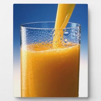 Glass of Juice Display Plaques