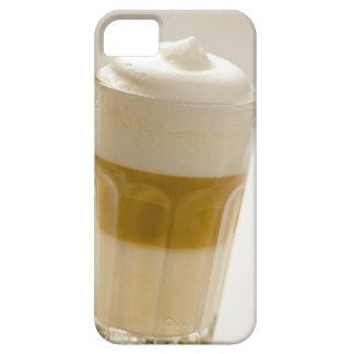 Glass of latte macchiato, close up iPhone SE/5/5s case