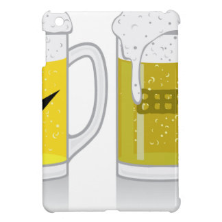 Glass of light beer iPad mini cover