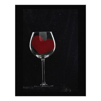 Glass of Love Letterhead
