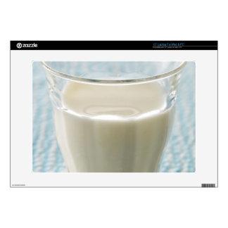 "Glass of milk 15"" laptop decal"