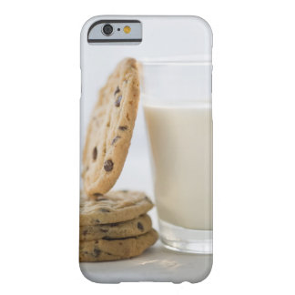 Glass of milk and cookies, close-up barely there iPhone 6 case