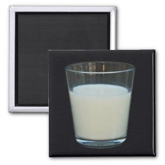 Glass of milk magnet