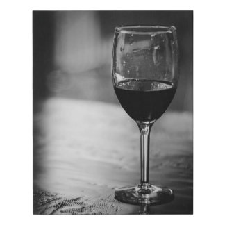 Glass of Pinot Noir Canvas Print