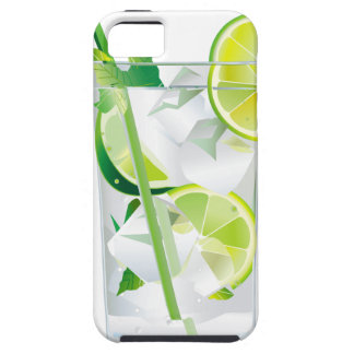 Glass of Refreshing Cocktail Mix iPhone SE/5/5s Case