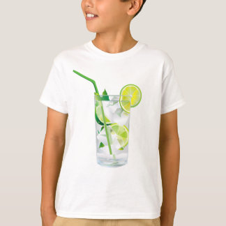 Glass of Refreshing Cocktail Mix T-Shirt