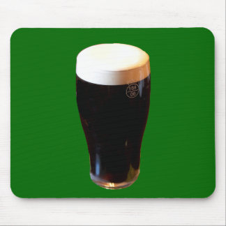 Glass of Stout Beer Mouse Pad