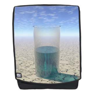 Glass of Water Backpack