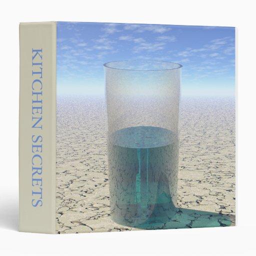 Glass of Water Vinyl Binders
