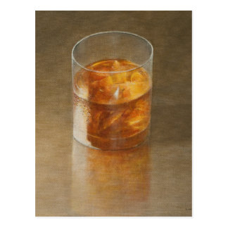 Glass of Whisky 2010 Postcard