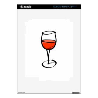 Glass of Wine Skin For iPad 3