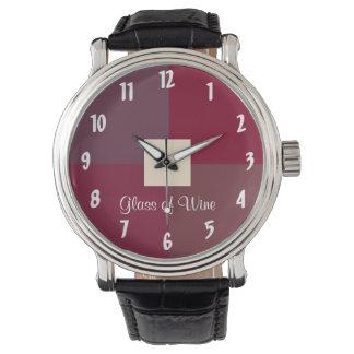 Glass of Wine Wristwatch
