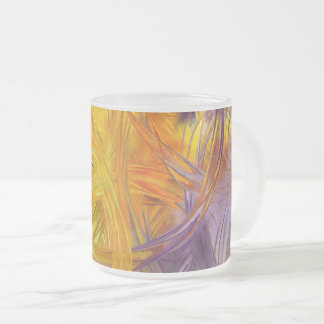 Glass Paint Frosted Glass Coffee Mug