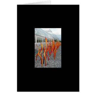 Glass Plants Card