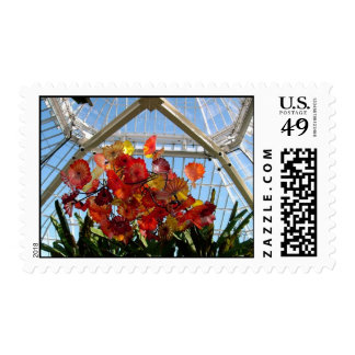 Glass Postage Stamp