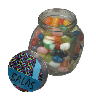 Glass pot in layout45 glass candy jar