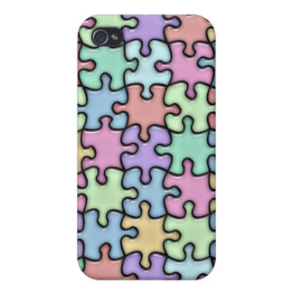 Glass Puzzle iPhone 4/4S Cases