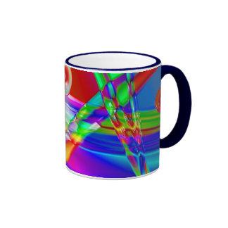 Glass Rainbow Mug