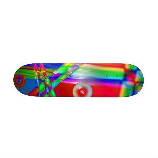 Glass Rainbow Skateboard