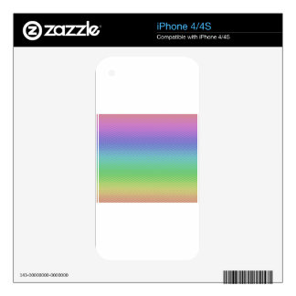 Glass Rainbow Skin For The iPhone 4S
