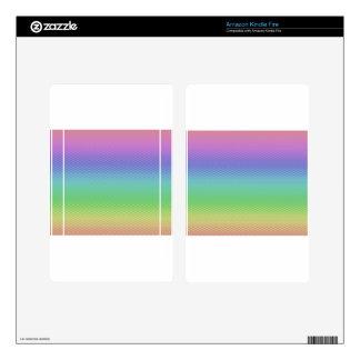 Glass Rainbow Skins For Kindle Fire