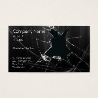 Glass Repair Business Card