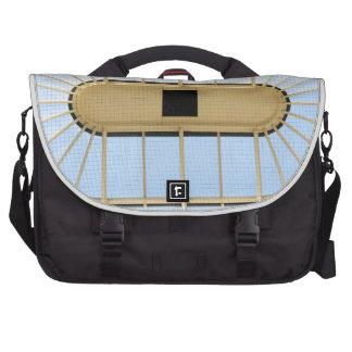 Glass roof design laptop bag