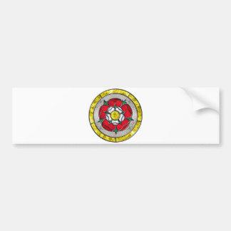 Glass Rose Bumper Sticker