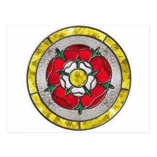 Glass Rose Postcard