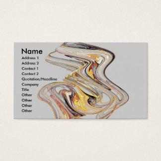 Glass Sculpture Business Card