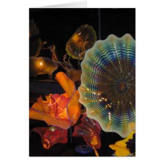 Glass Sculpture Card