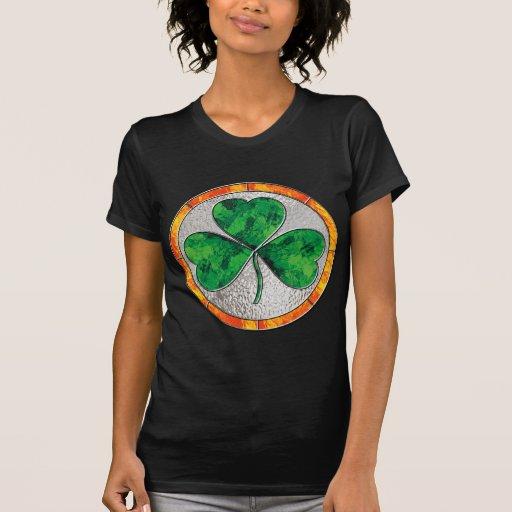 Glass Shamrock T-Shirt