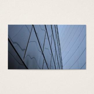 Glass Skyscraper Business Card