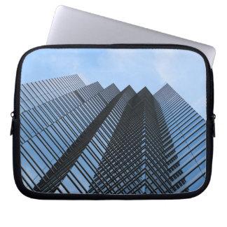 Glass Skyscraper Laptop Computer Sleeve