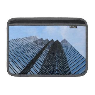 Glass Skyscraper MacBook Air Sleeves