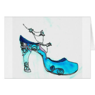 Glass Slipper Card
