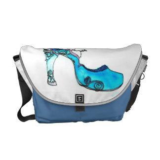 Glass Slipper Messenger Bag