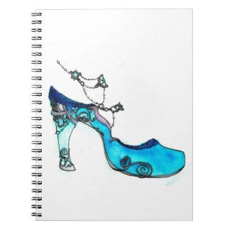 Glass Slipper Notebook