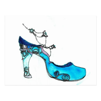 Glass Slipper Postcard